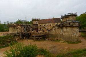 Guédelon-chateau