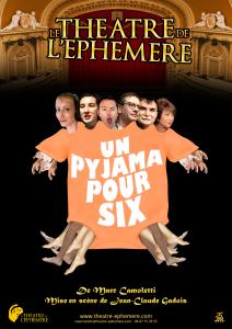 Affiche - Un pyjama pour six